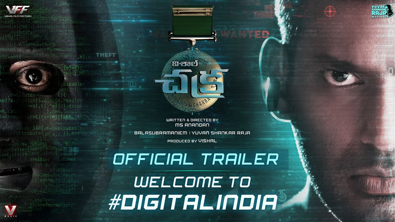 Action Hero Vishal's 'Chakra' Trailer In Four South Indian Languages Is Cruising Ahead In Views With Tremendous Response