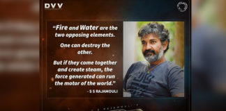 Director Rajamouli about the story theme of RRR
