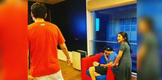 Supersta Mahesh Enjoying with Family
