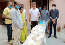 Hero Jagapathi Babu Distributed Daily needs