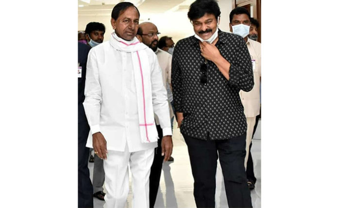 KCR Responsed positively after meeting with tollywood big wings