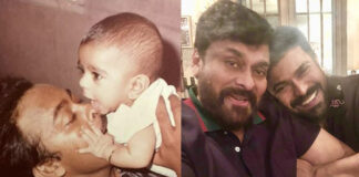 Mega powerstar Ramcharan on Fathers day